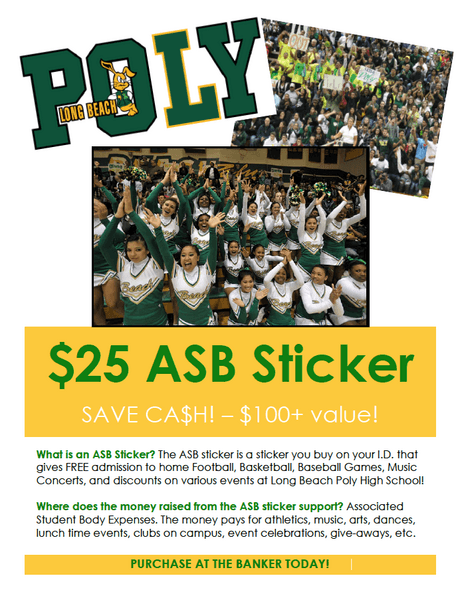 Purchase Your $25 ASB Sticker Today!