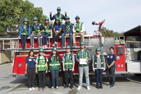 Poly's 2nd Teen CERT team graduates!