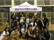 MEDS/POLY hangs with the LAKERs Trainers!
