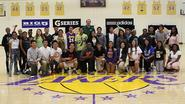 MAPS/HealthCorps hangs with the LAKERS!