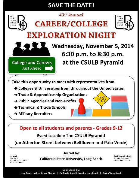 2014 Career & College Night at CSULB