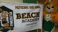 BEACH Academy Banner and Jackrabbit