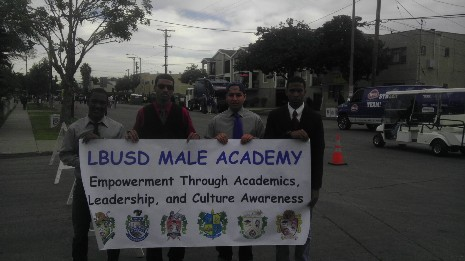 MA Students Participate in the 2012 MLK Parade