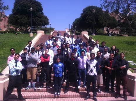 Male Academy Visits UCLA